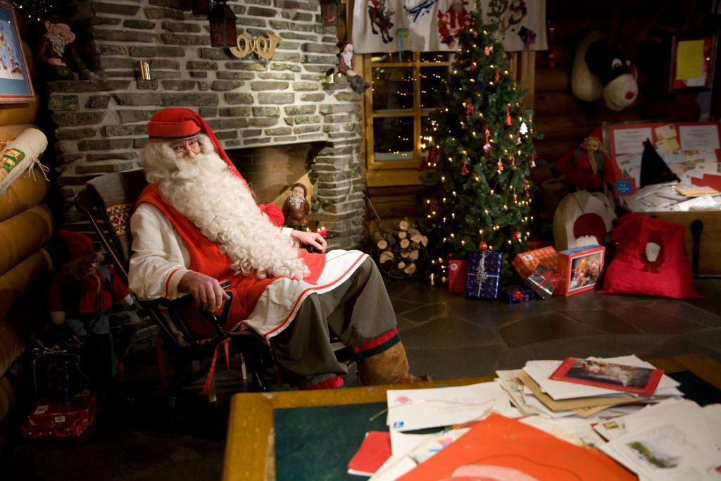 Santa-Claus-visit-village-Taxari-Travel-Lapland