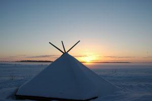 Camp-Fire-Adventure-SeaLapland-Taxari-Travel-Lapland-16