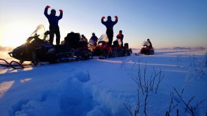 Wilderness-safari-by-snowmobiles-Taxari-Travel-Lapland-02