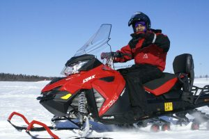 Snowmobile-safari-frozen-sea-ice-Taxari-Travel-Lapland
