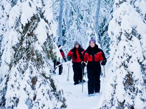 Snowshoes-tour-winter-activities-Kemi-Taxari-Travel-Lapland