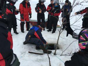 Taxari-Net-Fishing-Kemi-Snowmobile-safari