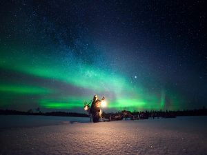 Reindeer-Auroras-searching-Taxari-Travel-Lapland