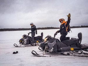 Snowmobile-safari-Rovaniemi-Taxari-Travel-Lapland